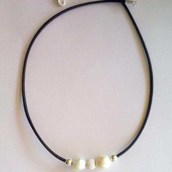 Inicio / Gargantillas / Gargantilla Perlas. collares 405
